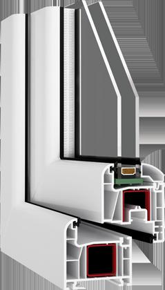 műanyag ablakkeret